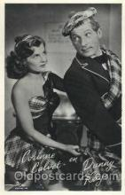 act003124 - Corinne Calvet & Danny Kaye Actor, Actress, Movie Star, Postcard Post Card