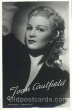 act003131 - Joan Caulfield Actor, Actress, Movie Star, Postcard Post Card