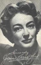 act003140 - Joan Crawford Actor, Actress, Movie Star, Postcard Post Card