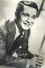 act003149 - Perry Como Actor, Actress, Movie Star, Postcard Post Card
