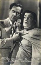 act003160 - Bud Abbot & Lou Costello Actor, Actress, Movie Star, Postcard Post Card