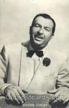 act003166 - Xavier Cugat Actor, Actress, Movie Star, Postcard Post Card