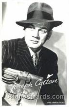 act003192 - Joseph Cotten Actor, Actress, Movie Star, Postcard Post Card