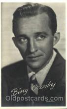 act003194 - Bing Crosby Actor, Actress, Movie Star, Postcard Post Card