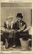 act003209 - Charlie Chaplin Postcards Old Vintage Antique Actor Postcard