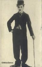 act003211 - Charlie Chaplin Postcards Old Vintage Antique Actor Postcard