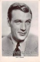 act003219 - Gary Cooper Movie Actor / Actress, Entertainment Postcard Post Card