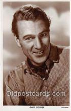 act003223 - Gary Cooper Movie Actor / Actress, Entertainment Postcard Post Card