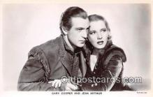 act003224 - Gary Cooper & Jean Arthur Movie Actor / Actress, Entertainment Postcard Post Card