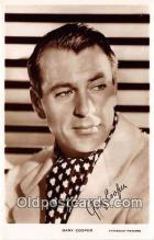 act003226 - Gary Cooper Movie Actor / Actress, Entertainment Postcard Post Card
