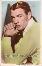 act003227 - Gary Cooper Movie Actor / Actress, Entertainment Postcard Post Card