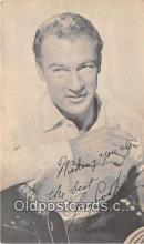 act003230 - Gary Cooper Movie Actor / Actress, Entertainment Postcard Post Card