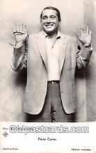 act003261 - Perry Como Movie Actor / Actress, Entertainment Postcard Post Card