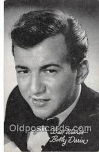 act003266 - Bobby Darin Movie Actor / Actress, Entertainment Postcard Post Card