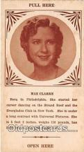 act003274 - Mae Clarke Movie Actor / Actress, Entertainment Postcard Post Card