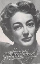 act003276 - Joan Crawford Actress, Movie Postcard Post Card