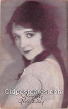 act003279 - Alice Day Movie Actor / Actress, Entertainment Postcard Post Card
