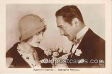 act003282 - Kathryn Carver Movie Actor / Actress, Entertainment Postcard Post Card