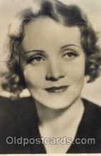 act004014 - Marlene Dietrich Postcard