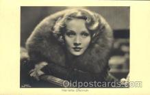 act004125 - Marlene Dietrich Actor, Actress, Movie Star, Postcard Post Card