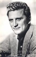act004150 - Kirk Douglas Actor, Actress, Movie Star, Postcard Post Card