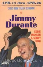 act004159 - Jimmy Durante Actor, Actress, Movie Star, Postcard Post Card