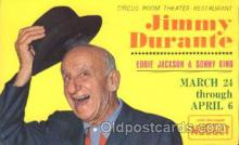 act004161 - Jimmy Durante Actor, Actress, Movie Star, Postcard Post Card