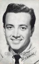 act004172 - Vic Damone Movie Actor / Actress, Entertainment Postcard Post Card