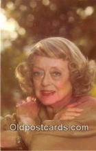 act004176 - Bette Davis Movie Actor / Actress, Entertainment Postcard Post Card