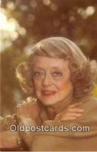 act004180 - Bette Davis Movie Actor / Actress, Entertainment Postcard Post Card