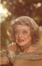 act004182 - Bette Davis Movie Actor / Actress, Entertainment Postcard Post Card