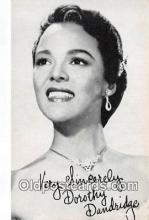 act004197 - Dorothy Dandridge Movie Actor / Actress, Entertainment Postcard Post Card