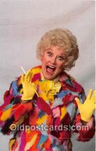 act004209 - Phyllis Diller Movie Actor / Actress, Entertainment Postcard Post Card