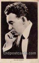 act004216 - William Duncan Movie Actor / Actress, Entertainment Postcard Post Card