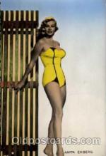 act005009 - Anita  Eckberg Post Card