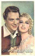 act005028 - Nelson Eddy and Jeanette MacDonald Trade Card Actor, Actress, Movie Star, Postcard Post Card