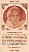 act005034 - Sally Eilers, Fox Star Movie Actor / Actress, Entertainment Postcard Post Card