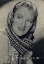 act006002 - Gracie Fields Not a postcard backing
