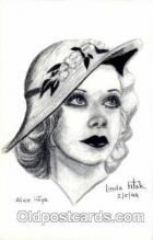 act006017 - Alice Faye Postcard, Post Card