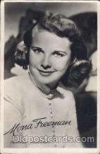 act006027 - Mara Freeman Actor, Actress, Movie Star, Postcard Post Card