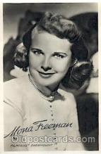 act006034 - Mara Freeman Actor, Actress, Movie Star, Postcard Post Card
