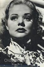 act006036 - Alice Faye Actor, Actress, Movie Star, Postcard Post Card