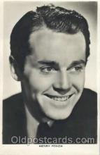 act006041 - Henry Fonda Actor, Actress, Movie Star, Postcard Post Card