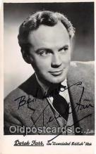 act006047 - Derek Farr Movie Actor / Actress, Entertainment Postcard Post Card