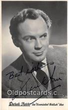 act006048 - Derek Farr Movie Actor / Actress, Entertainment Postcard Post Card