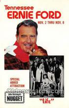 act006054 - Ernie Ford Movie Actor / Actress, Entertainment Postcard Post Card