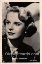 act006066 - Mona Freeman Movie Actor / Actress, Entertainment Postcard Post Card