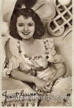 act007019 - Janet Gaynor Postcard
