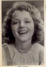 act007022 - Janet Gaynor Post Card