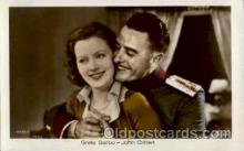 act007069 - Greta Garbo & John Gilbert Postcard, Post Card